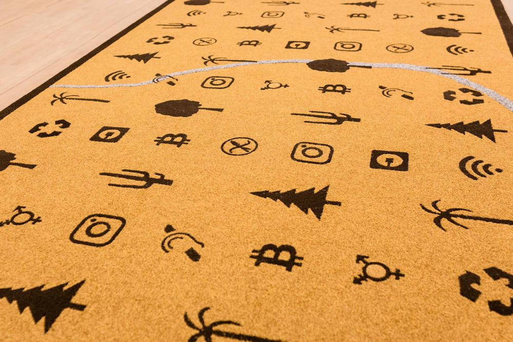 mostra antonio riello, key51, bassano del grappa, italia, tappeto, arte, artigianato